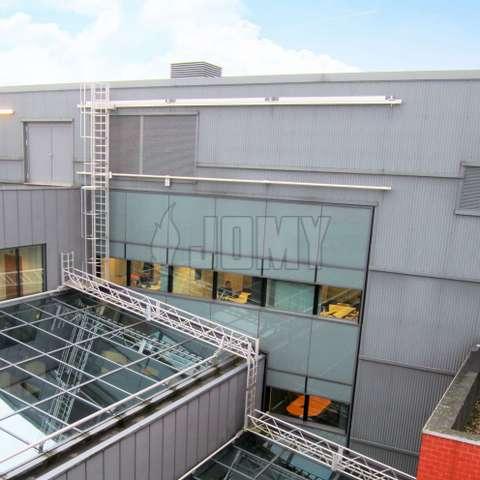 Building Maintenance Units Bmu Facade Access Systems Jomy