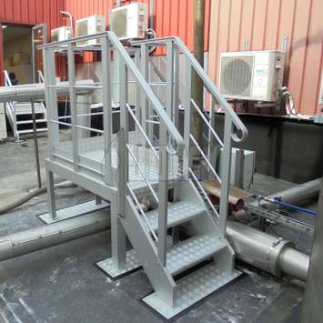 Crossover platform with guardrails and an