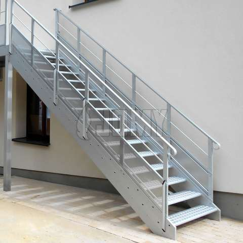 Exterior Stairs For Evacuation Or Access Jomy