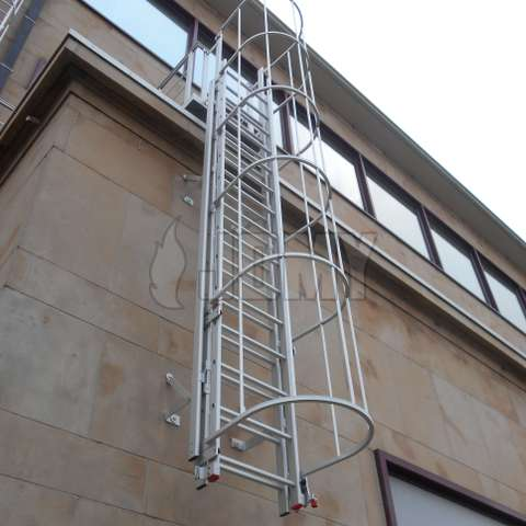 Fire escape ladder