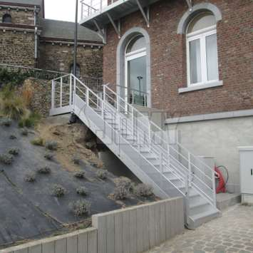 JOMY stairs perfectly adapted to the environment