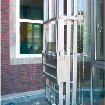 Ladder and foldable workplatform - Building Maintenance Unit