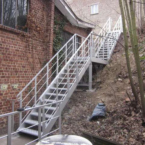 egress and access aluminium stairs - Aluminum Stairs