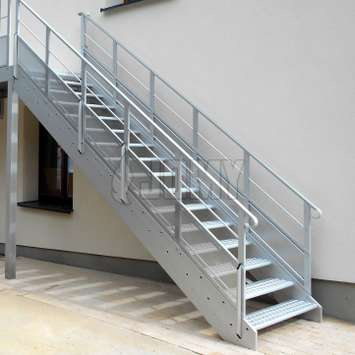 Exterior stairs in aluminium | JOMY