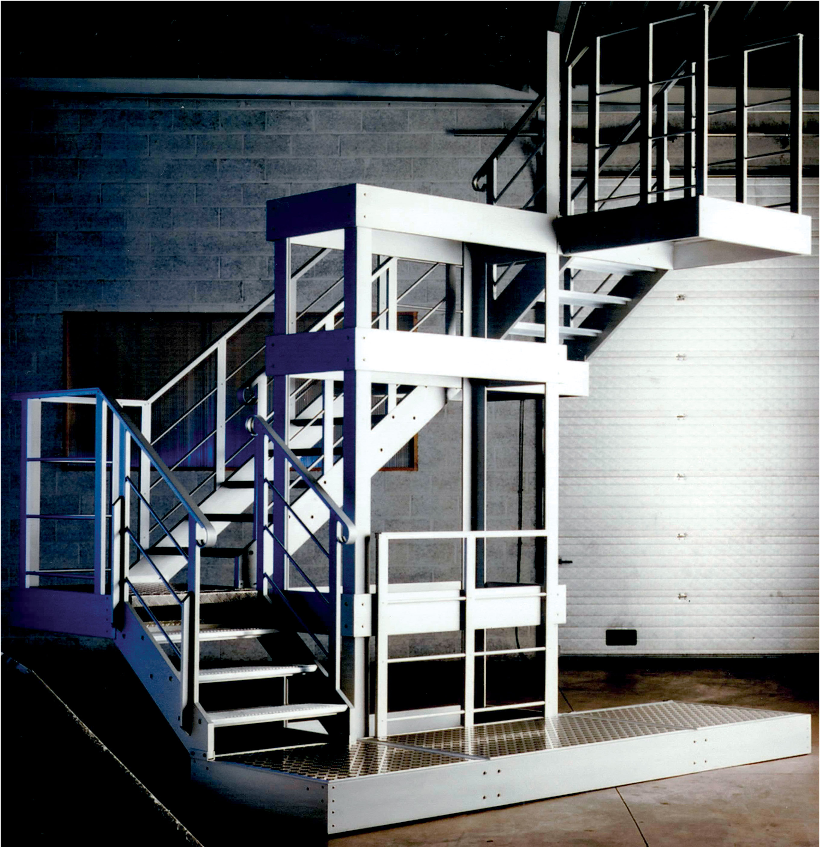 Rectangular stairs