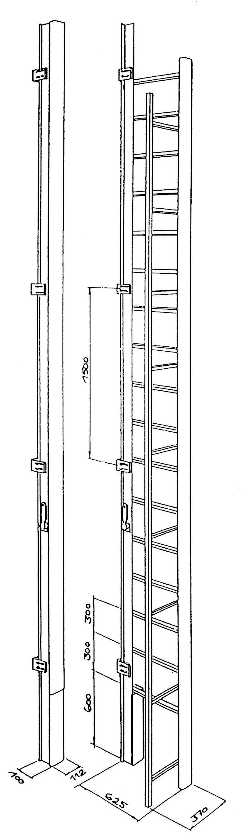 Specification plan for a JOMY ladder
